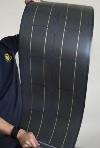 Гибкие солнечные модули фирмы Midsummer