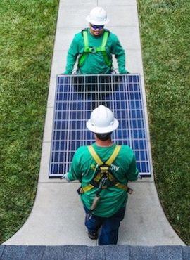 Новые солнечные панели от SolarCity