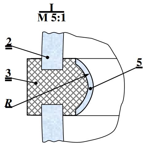 Деталь сферического солнечного коллектора
