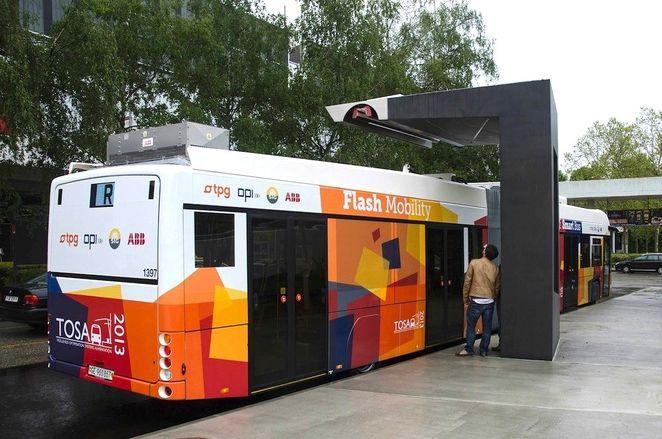 Компания АББ предоставляет решение для быстрой зарядки электробусов