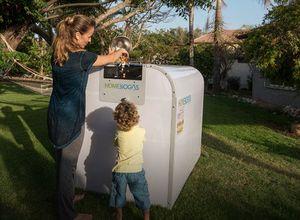 Бытовая установка для получения биогаза