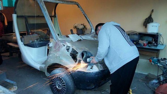В Крыму создают электромобиль