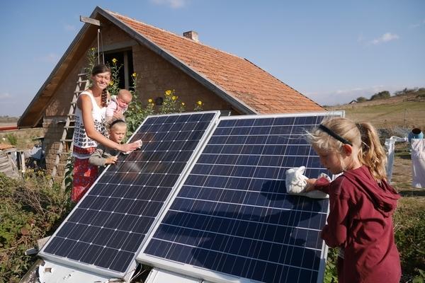 Солнечные панели в Крыму
