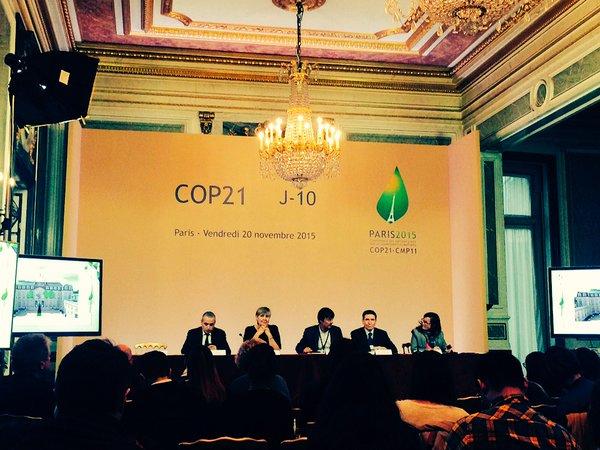 Саммит COP21 в Париже