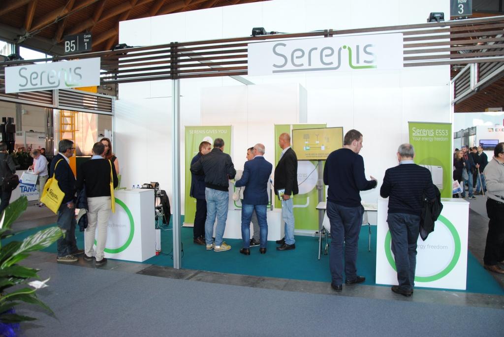 Serenis-ESS на выставке Key Energy