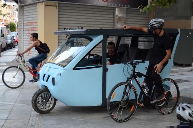 Sunnyclist - автомобиль на солнечных батареях