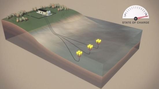 Конадская компания Hydrostor предагает хранить энергию в океане