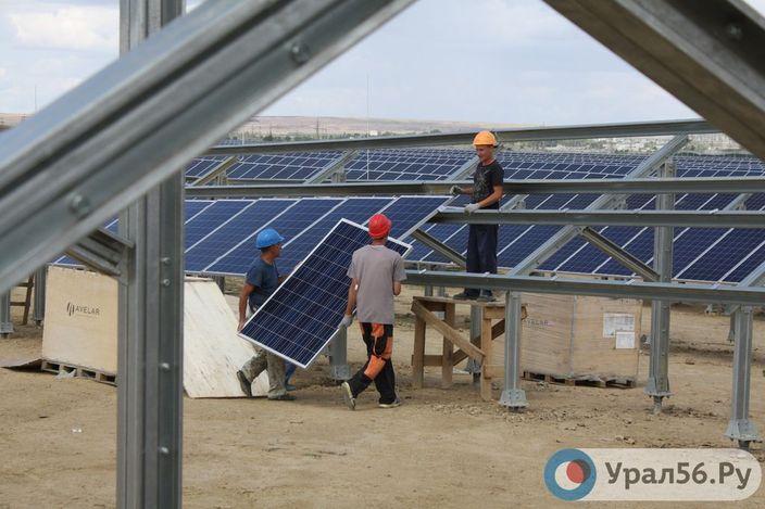 Пусконаладочные работы на солнечной электростанции в Орске