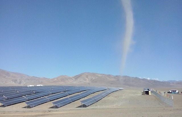 Солнечная электростанция в Кош-Агачском районе Республики Алтай
