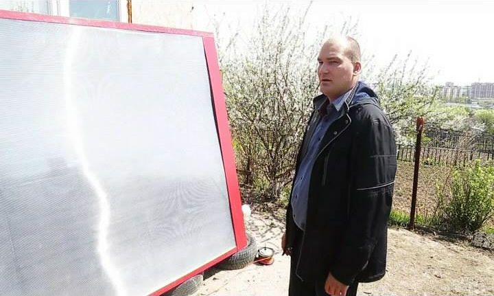 Солнечный воздушный коллектор А.Шукалина