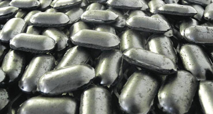 Новый тип топлива - брикеты Coalgae