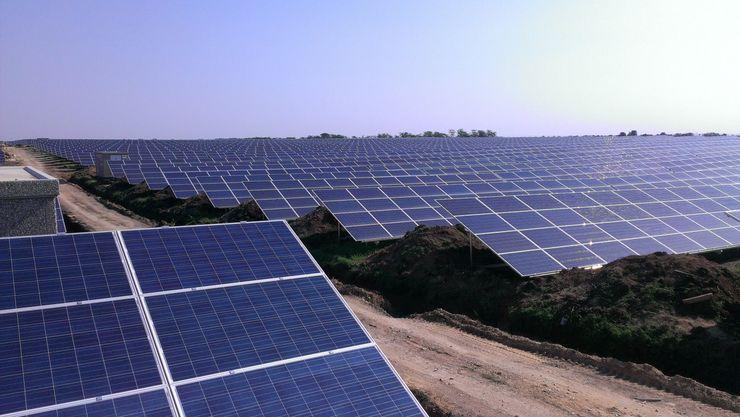 Солнечная электростанция «Николаевка» в Крыму