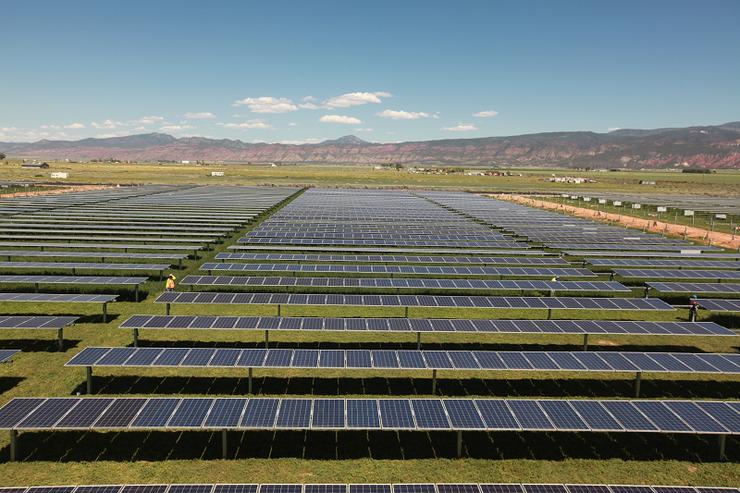 Солнечная электростанция Utah Red Hills Renewable Park