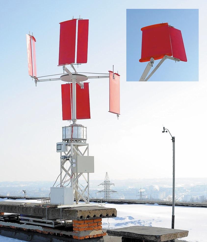 Ветростанция «Альбатрос» на испытаниях