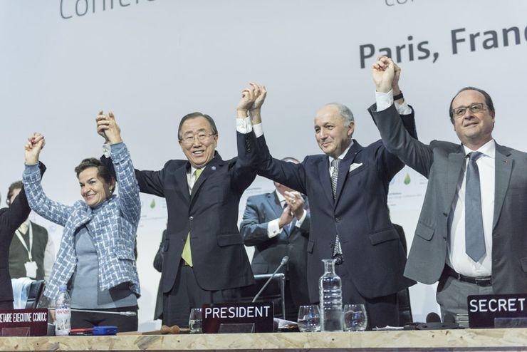 Согласован пакт по климату