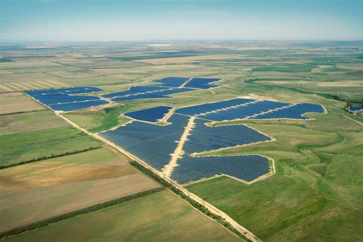 Солнечная электростанция «Перово» в Крыму