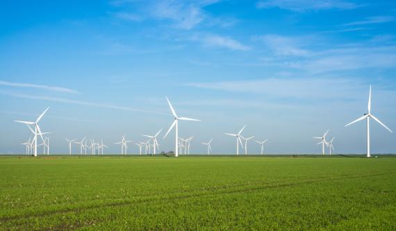 Ветровая электростанция в Германии