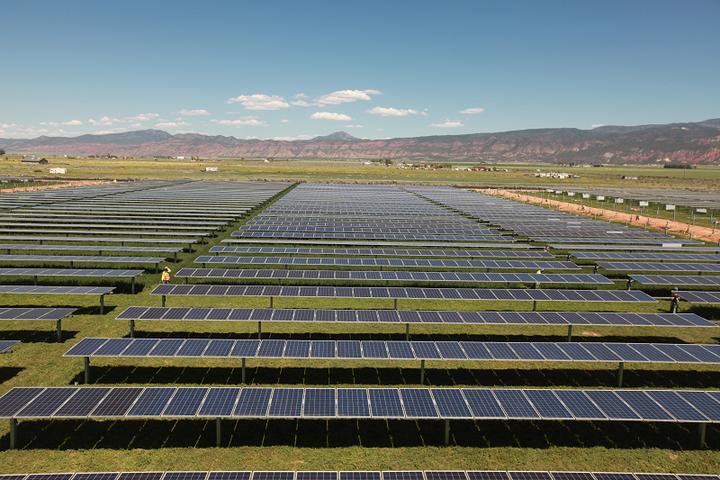 Солнечная фотоэлектрическая электростанция Hooper