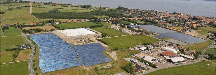 Солнечная электростанция в Дании
