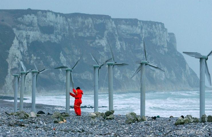Ветровая энергетика Великобритании