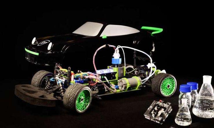 Прототип автомобиля на муравьиной кислоте