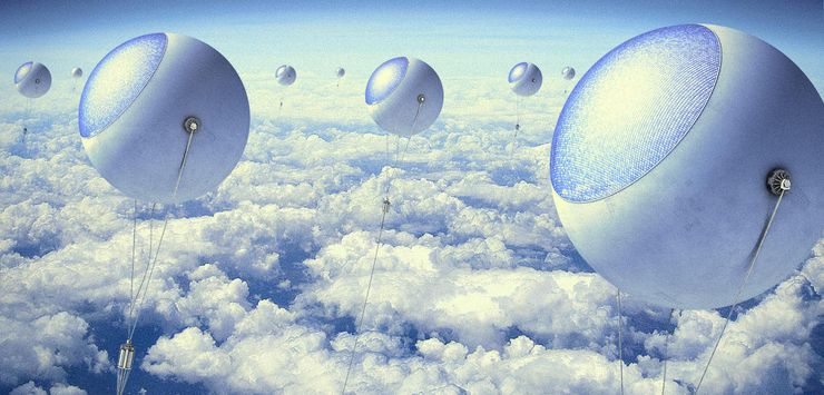 Солнечные воздушные шары