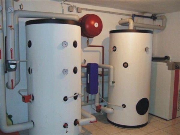 Водяной тепловой аккумулятор в системе отопления