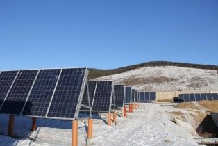 Солнечная электростанция в забайкалье