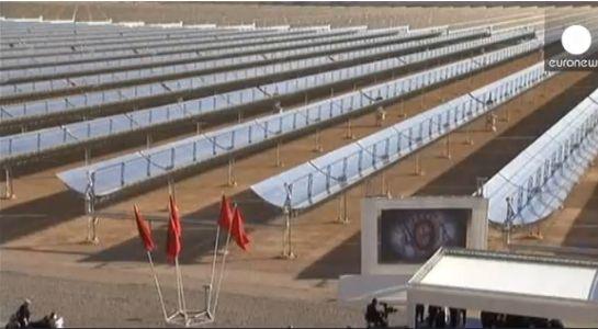 """Крупнейшая в мире солнечная электростанция """"Нур 1"""""""