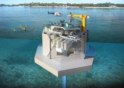 Ocean Thermal Energy Converter