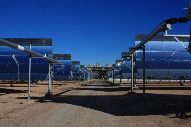 Солнечная электростанция Solana в Аризоне