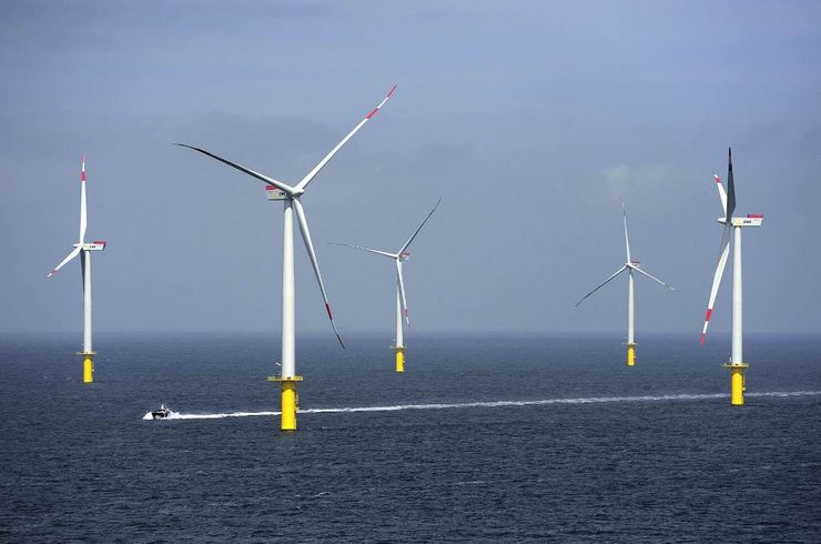 Прибрежные ветрогенераторы