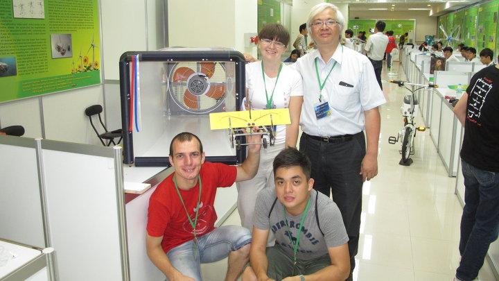 Российские студенты на конкурсе Green Tech в Тайване.