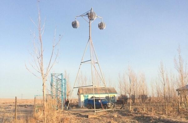 Ветрогенератор новой конструкции
