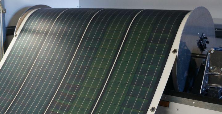 Гибкая солнечная панель Renovagen