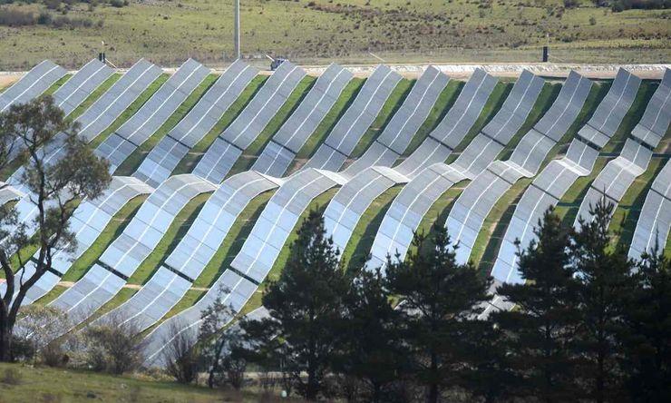 Солнечная электростанция в Канберре, Австралия