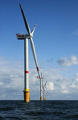 ветрогенератор мощностью в 6 Мегаватт