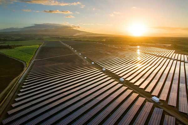 Солнечная электростанция в городе Кадис на Филиппинах