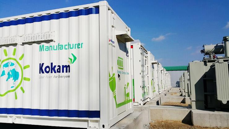 Система хранения электроэнергии южнокорейской компании Kokam