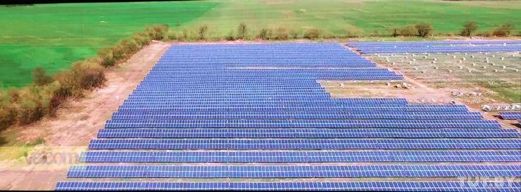 Солнечная станция в Беларуси