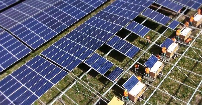Солнечная электростанция Cestas во Франции