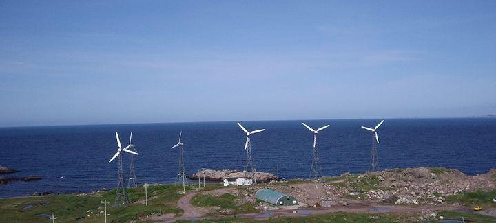 Ветровые турбины в Греции