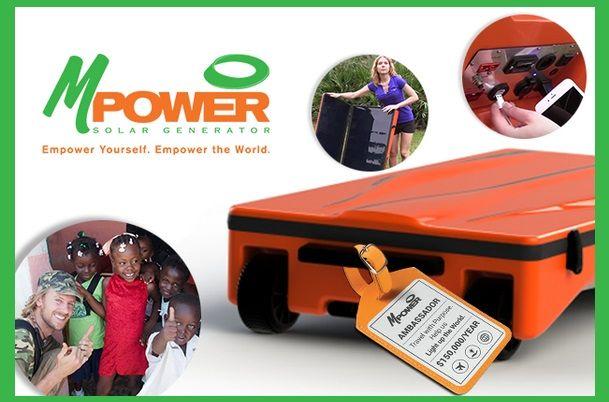 Портативный солнечный генератор mPower