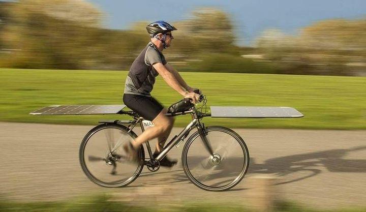 Солнечный велосипед Albert van Dalen