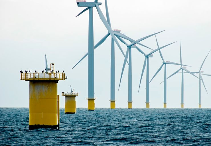 Морские ветровые установки