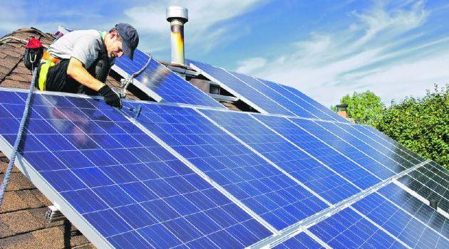 Школа на солнечных батареях