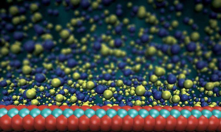 Мембрана толщиной в 3 атома
