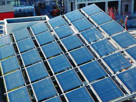 Солнечные батареи в Ванкувере