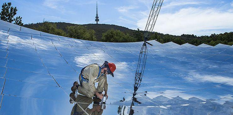 Солнечная концентрирующая тарелка Австралийского государственного университета