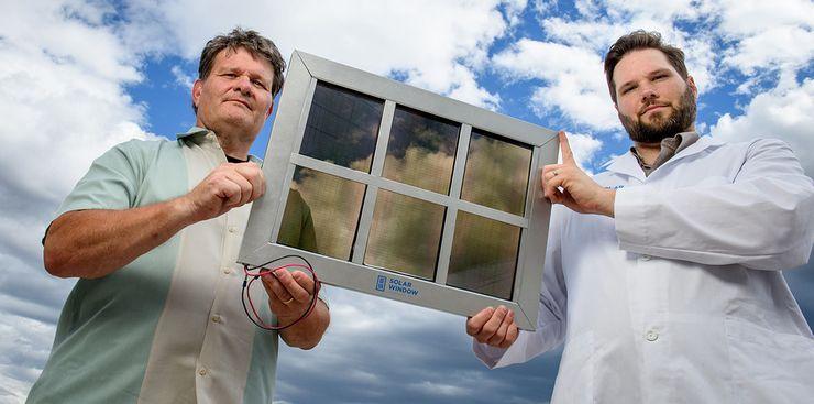 Оконное покрытие SolarWindow вырабатывает электричество
